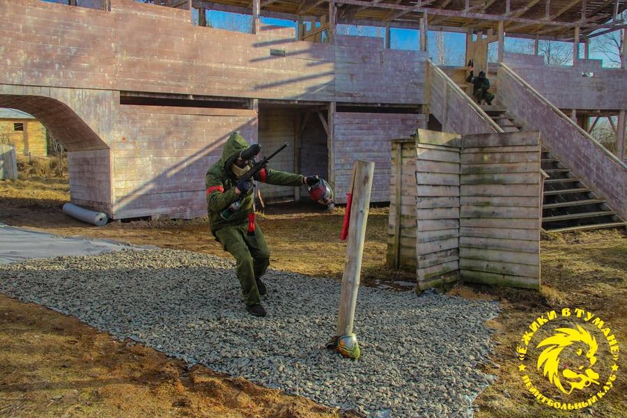 Защитный жилет для пейнтбола – фото с игр